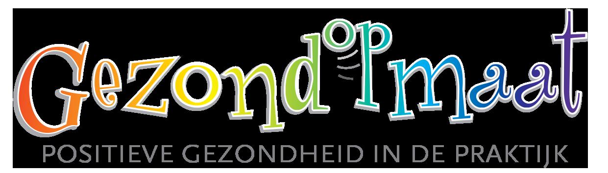 Gezondopmaat logo met tekst